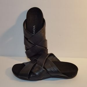 VIONIC Womens Juno Slides Comfort Sandals